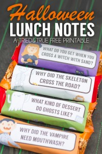 Free Halloween Lunch Joke Printables - 24/7 Moms