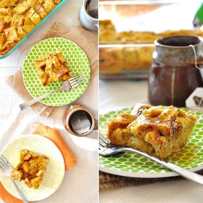 Delicious Pumpkin French Toast Bake - 24/7 Moms
