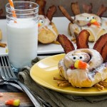 Simple Cinnamon Roll Turkeys