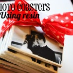 MOM Tip: DIY Gifts ~ Photo Tile Coasters