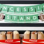 Free Concession Stand Banner Printable for Super Bowl
