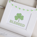 St. Patrick's Day Blessed Subway Art Printable