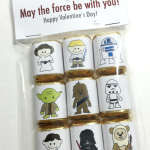 Free Star Wars Valentine's Candy Wrapper Printables
