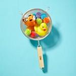 MOM Tip: Colander as Toy Scoop