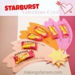 Free Starburst Valentine Printable