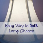MOM Tip: Easy Way to Dust Lamp Shades
