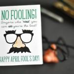 Free April Fool's Day Printable