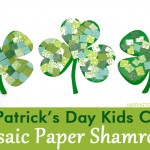 MOM Tip: Mosaic Paper Shamrocks