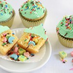Lucky Charms™ Surprise-Inside Cupcakes to Make with Your Kids