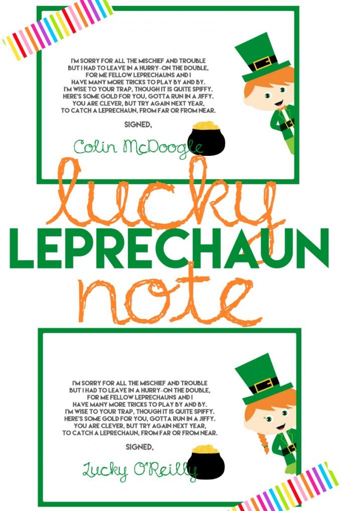 lucky-leprechaun-note-printable