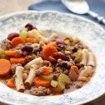 3 Bean Minestrone Soup Recipe
