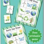Free Earth Day Bingo Printable