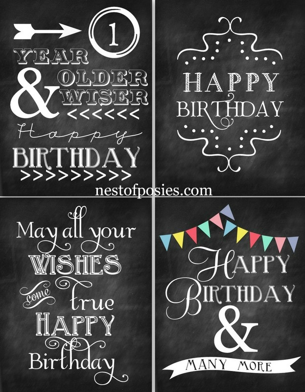 free happy birthday chalkboard printables 24 7 moms