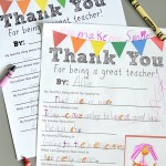 Free Teacher Appreciation Letter Printable