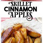 Sweet Skillet Cinnamon apples