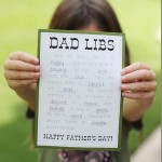 Free Dad Libs Printable