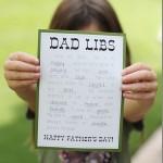 Free Dad Libs Printable