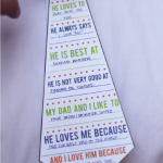 Free Daddy Tie Card Printable