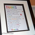 Free Teacher Thank You Poem Printable