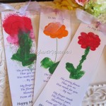 Free Flower Bookmark Printable for Mom