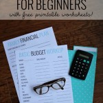 Free Basic Budgeting Worksheet Printables