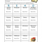 Summer Reading with Kids: Genre Challenge Free Printable