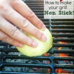 MOM Tip: How To Make Your Grill Non-Stick