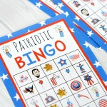 Free 4th Of July Bingo Game Printable