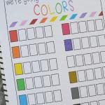 Free Summer Color Scavenger Hunt Printable