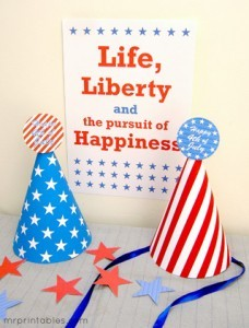 printable-party-hats-4th-july-2-228x300