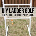 MOM Tip: DIY Ladder Golf
