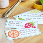 Free Lunchbox Note Printables