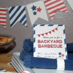 Free Backyard Barbecue Invitation Printable
