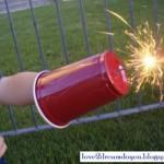 MOM Tip: 4th of July Sparkler Shield