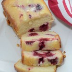 Lemon Raspberry Loaf (Quick Bread)