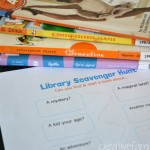 Free Library Scavenger Hunt Printable