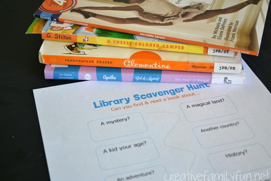 libraryscavengerhunt2creativefamilyfun