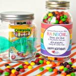 Free Rainbow Inspired Birthday Printable