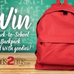 Back to School Extravaganza ~ Fundraising Ideas for Back to School That Work & WIN: Back-To-School Backpack with Goodies