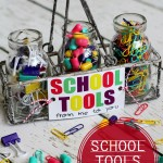 Free School Tools Gift Printable