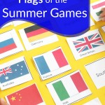 Free Flags for the Summer Olympic Game Printable