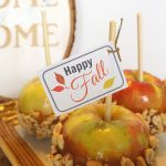 Free Happy Fall Gift Tag Printable