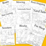 Free Seek and Finds, Coloring Sheets, Games, Mazes and More Printables