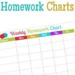 Free Homework Chart Printable