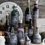 Free Apothecary Label Printables for Halloween