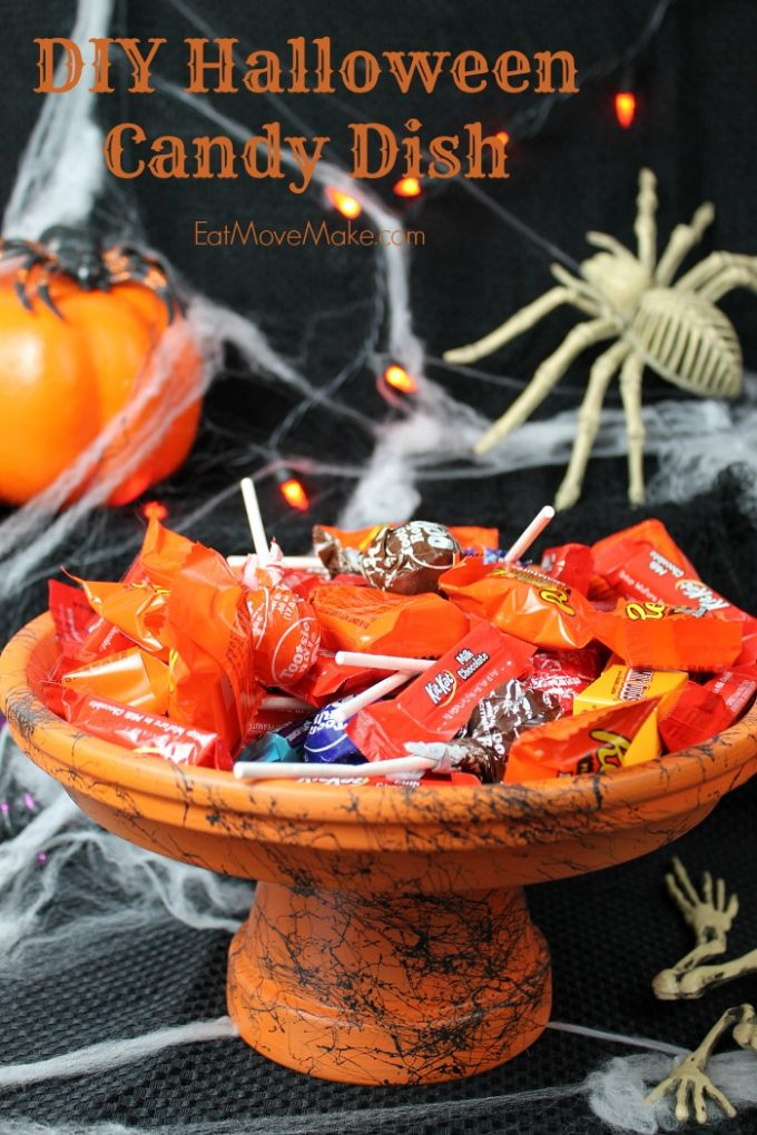 Mom Tip Diy Halloween Candy Dish 24 7 Moms