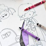 Free Halloween Coloring Page Printables