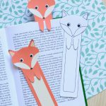 Free Fox Bookmark Printables