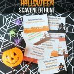 Free Halloween Scavenger Hunt Printable