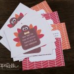 Free Turkey Trivia Card Printables